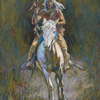 baker indian on horse, 9/29/06, 2:00 PM,  8C, 9000x12000 (0+0), 150%, Repro 2.2 v2 l,  1/30 s, R22.9, G15.6, B33.4